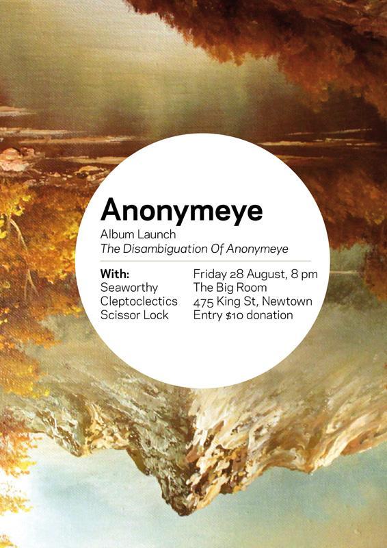 The Disambiguation Of Anonymeye album launch, Sydney, 2008
